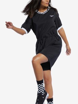 Šaty Reebok Classic Cl D Tennis Dress Černá