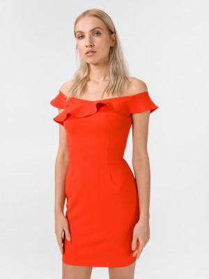Lupe Šaty Guess Červená