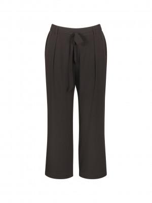 Dámské kalhoty Mix & Match High Waist Cropped Trousers - Triumph černá (0004) 038