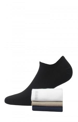 Pánské kotníkové ponožky Wola W91.000  antracit 45-47