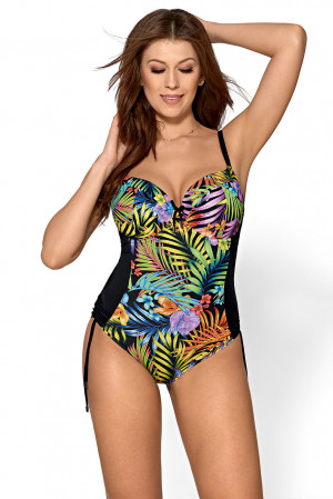 Jednodílné dámské plavky Ava SKJ 28 jungle