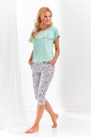 Krátké dámské pyžamo 2168 ETNA S-XL márová