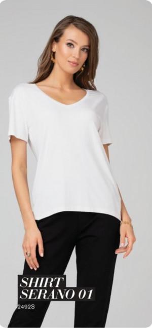 Dámské tričko SERANO 01 bílá