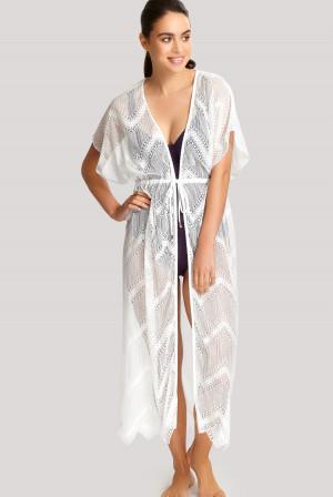 Plážové oblečení Panache SW1425  L Bílá