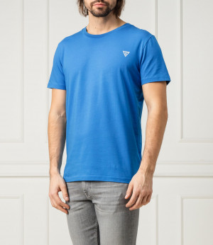 Pánské tričko U94M09JR00A-G7R4 modrá - Guess modrá