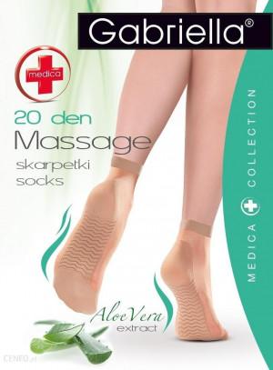 Relaxační ponožky MEDICA 20 černá uni velikost