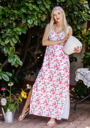 Dámské šaty LHD 505 A20 bílá