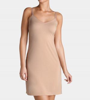 Noční košilka Body Make-Uu Dress 01 hladce tělová - Triumph L hladce tělová (6106)