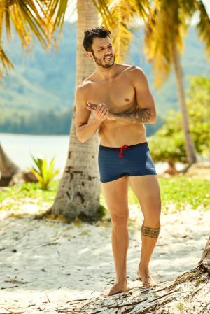 Pánské plavky - boxerky Henderson 37825 Hero navy