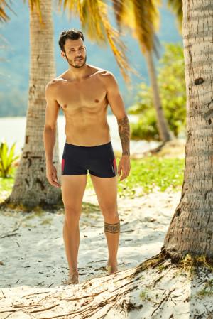 Pánské plavky - boxerky Henderson 37806 Hot černá