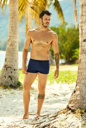 Pánské plavky - boxerky Henderson 37823 Hex černá