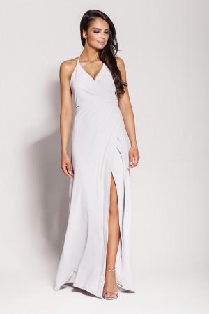 Dámské šaty 133 - Dursi světle šedá