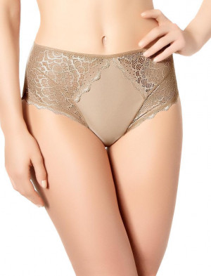 Kalhotky Caresse 12A770 - Simone Péréle preppy nude