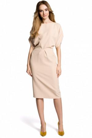 Dámské šaty model 113815 - Moe  béžová
