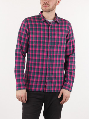 Košile Vans Mn Alameda Ii Fuchsia Purple Růžová