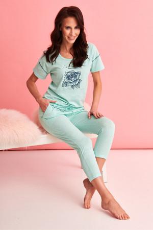Krátké dámské pyžamo 2164 ALEXA S-XL márová