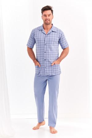 Pánské pyžamo 954 GRACJAN 2XL-3XL modrá 2XL