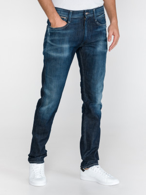 Anbass Ice Blast Jeans Replay Modrá
