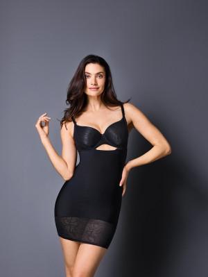 Stahovací šaty Silhouette 819823 - Felina 36 černá (04)