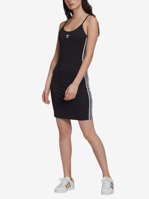 Šaty adidas Originals Tank Dress Černá