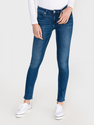 022 Jeans Calvin Klein Modrá