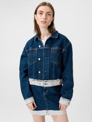Omega Bunda Calvin Klein Modrá