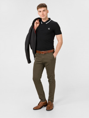 Essentials Polo triko Calvin Klein Černá