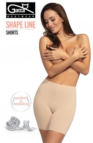 Dámské kalhotky šortky Gatta Shape Line 1465S černá