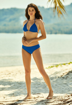 Dvoudílné dámské plavky Henderson Ladies 38136 Filo modrá