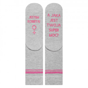 Ponožky SOXO se životními instrukcemi -