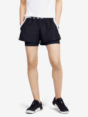 Kraťasy Under Armour Play Up 2-In-1 Shorts Černá