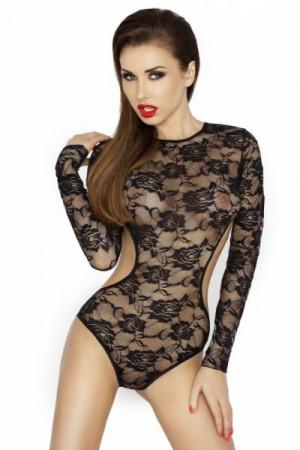 Passion Yolanda černé Body L/XL černá