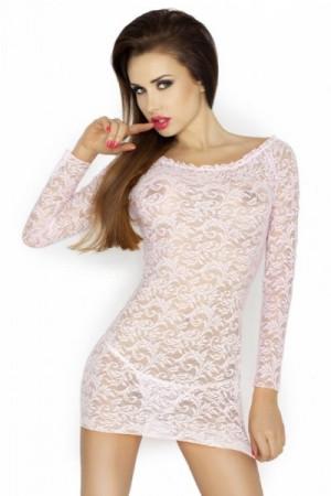 Passion Yolanda růžová Košilka L/XL starorůžová