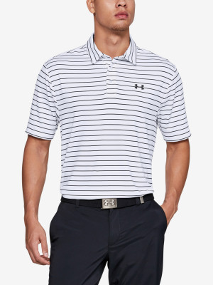 Tričko Under Armour Playoff Polo 2.0-Wht Bílá