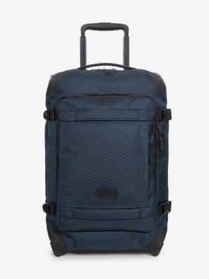 Cestovní taška Eastpak Tranverz Cnnct S Cnnct Navy Modrá