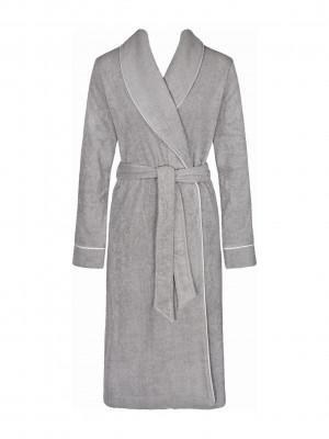 Dámský župan Robes SS18 Long Robe stříbrně šedá - Triumph 38 stříbrně šedá (3647)