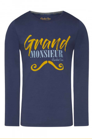 Pánské tričko na spaní Grand Monsieur