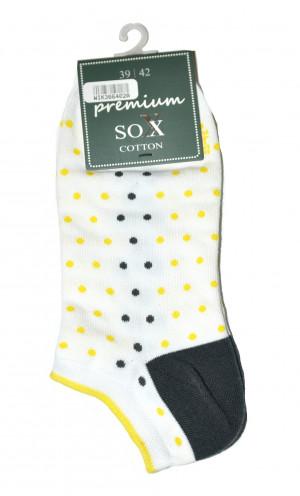 Dámské ponožky WiK 36640 Premium Sox bílá 39-42