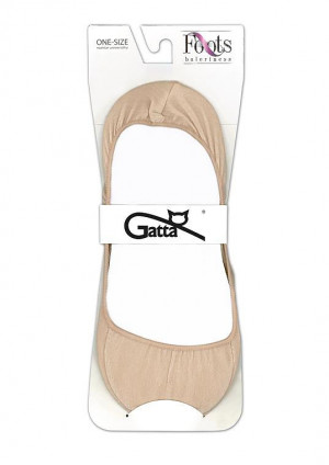 Dámské ponožky baleríny Gatta Foots 000260 01A nero univerzální
