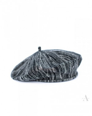 Art Of Polo 18329 Cotton Melange dámský baret 56-59 black