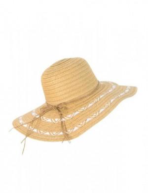 Art 19177 Letnia Bryza dámský klobouk 58-59 dark beige
