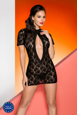 Erotická košilka Rika chemise black