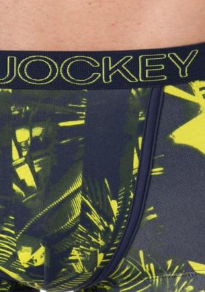 Boxerky 181203H-463 žlutomodrá - Jockey žluto-modrá