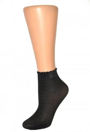 Dámské ponožky RETINA černá uni velikost
