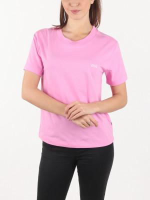 Tričko Vans Wm Junior V Boxy Fuchsia Pink Růžová