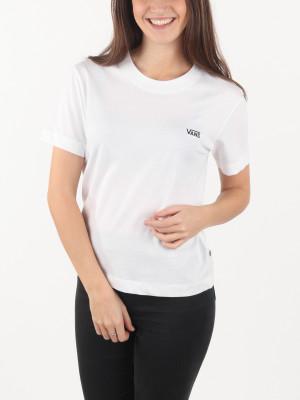 Tričko Vans Wm Junior V Boxy White Bílá