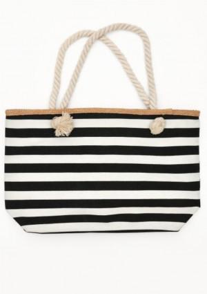 Plážová taška Esotiq 38133  UNI Černá