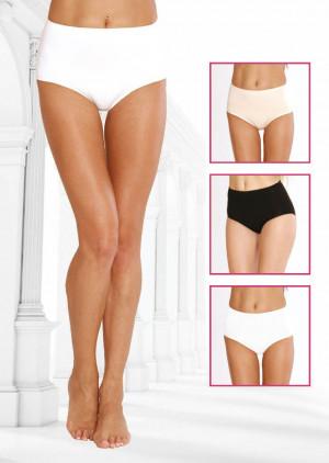 Dámské kalhotky De Lafense Sara 018 3XL-4XL béžová 4XL
