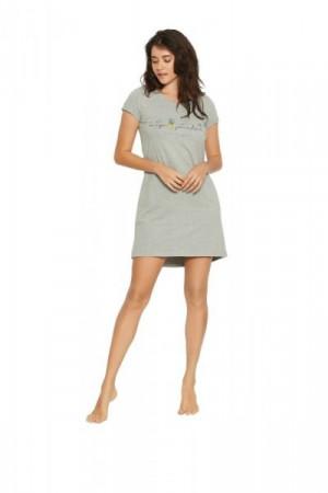 Henderson Ladies Favor 38061-90X Noční košilka L grafitová (tmavě šedá)
