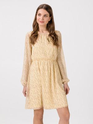 Molly Šaty Vero Moda Žlutá